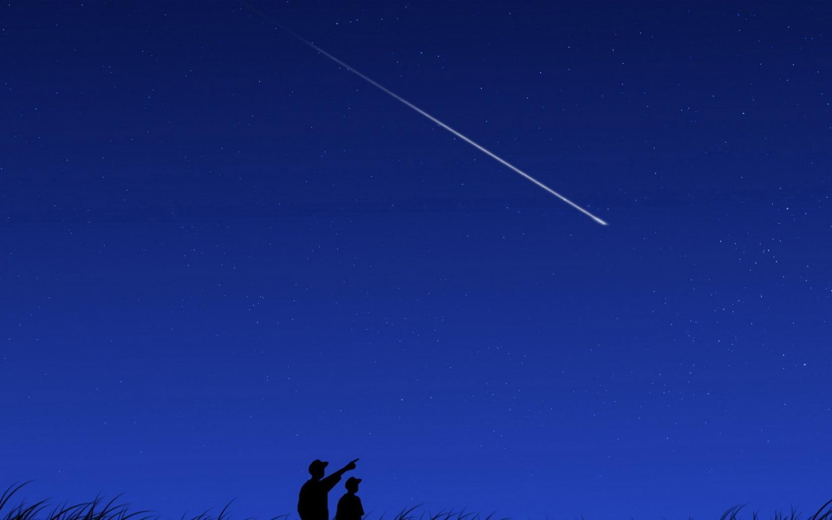 shooting star backgrounds wallpaper cave