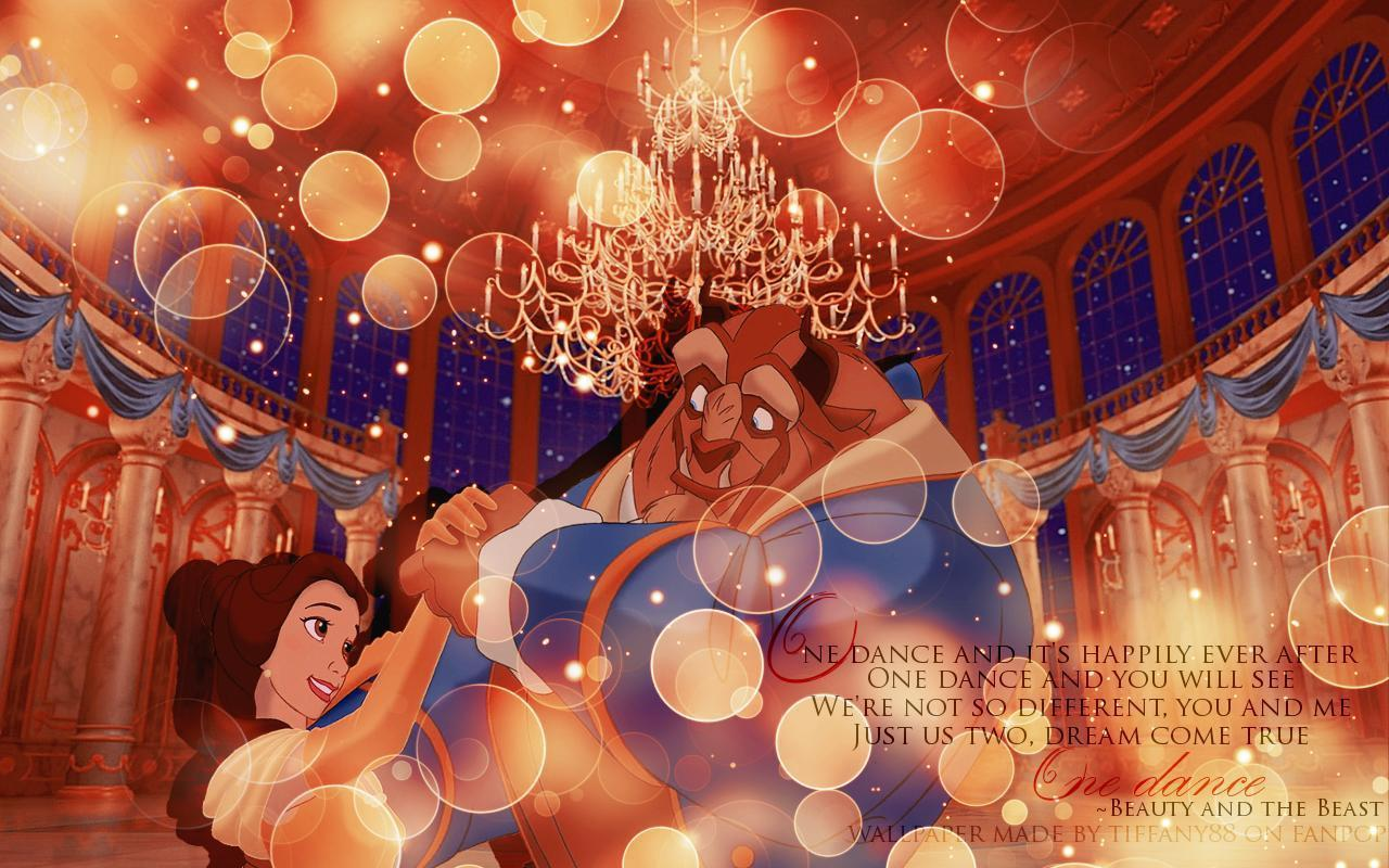 Beauty And The Beast Disney Wallpaper 689193 - WallDevil