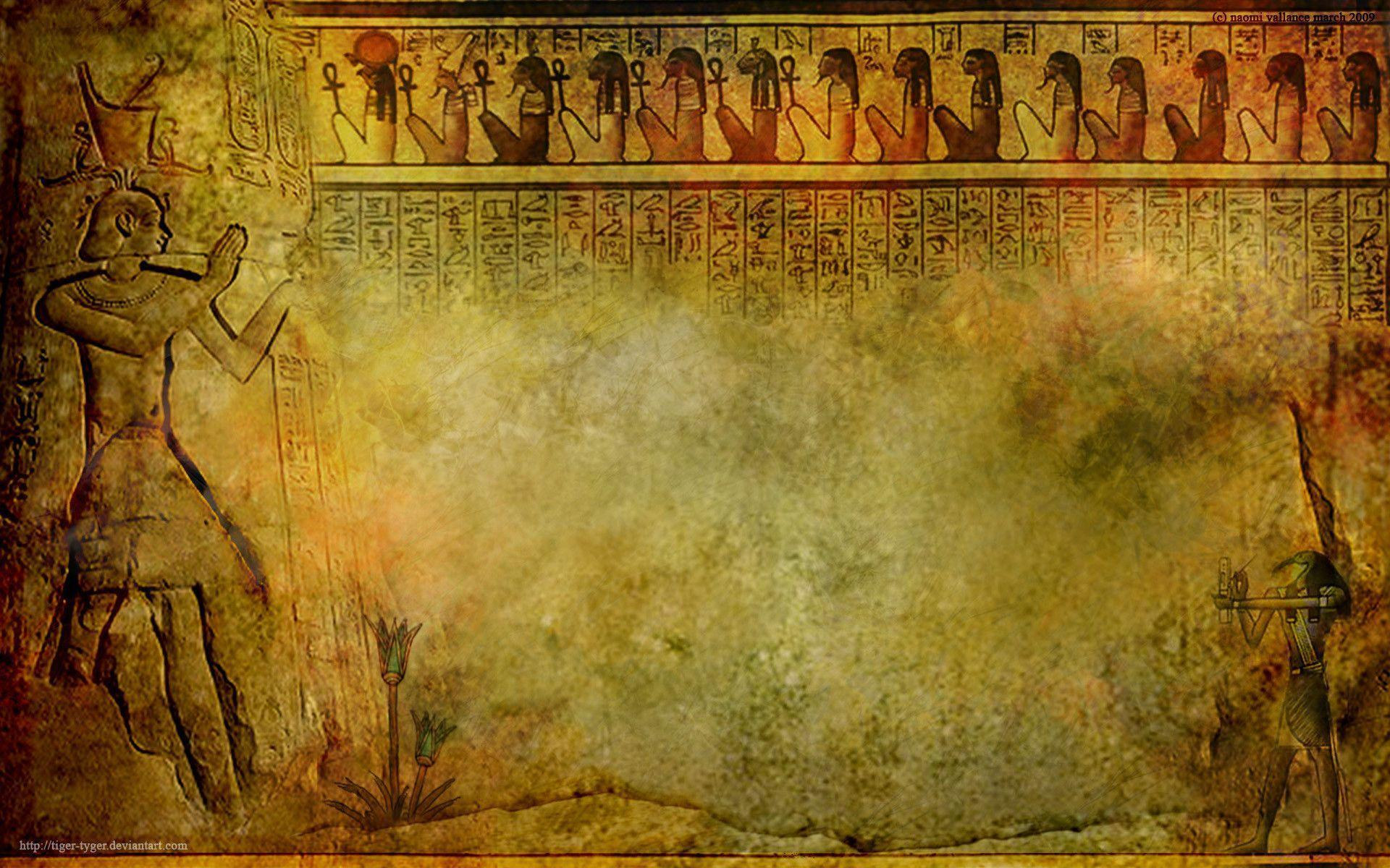 Egypt backgrounds wallpaper cave for Egyptian mural wallpaper