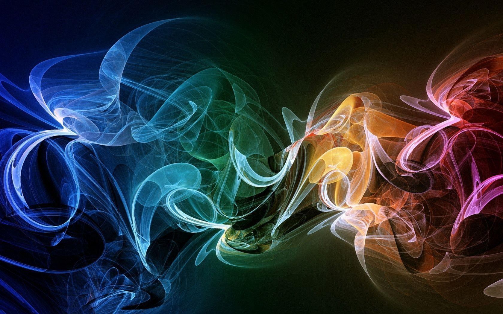 Violet Smoke Art Wallpapers: Colored Smoke Wallpapers