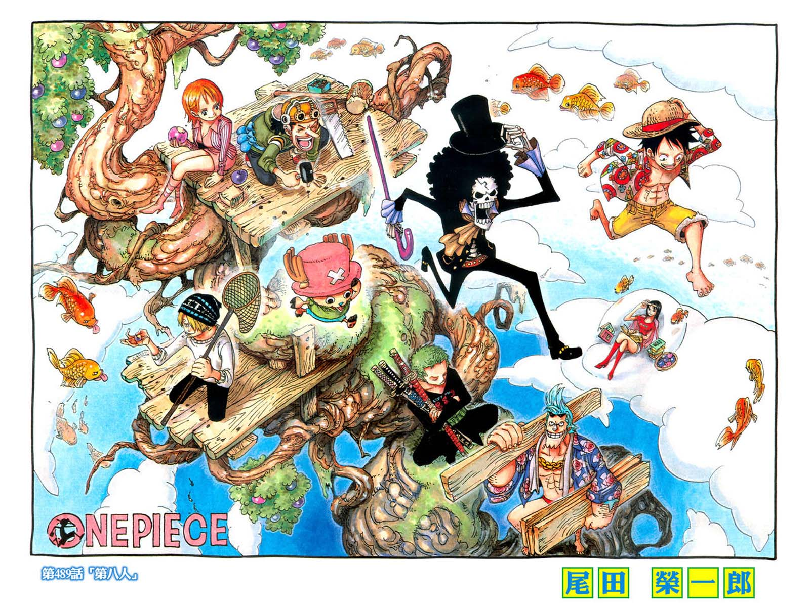 one piece characters day hd wallpapers Car Tuning