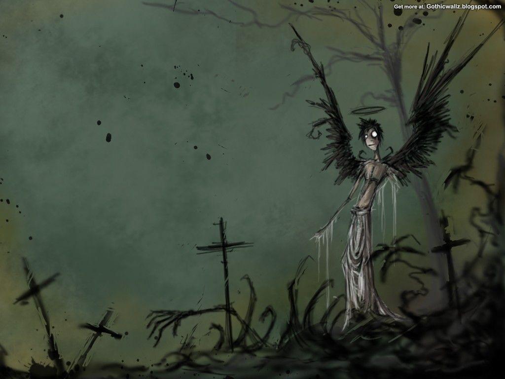 gothic desktop backgrounds wallpaper cave