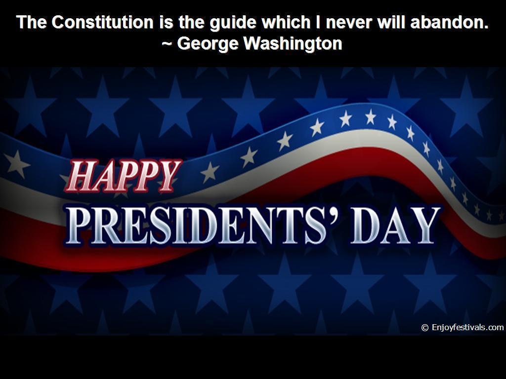Washington's Birthday – USA President's Day – Quotes & Sayings ...