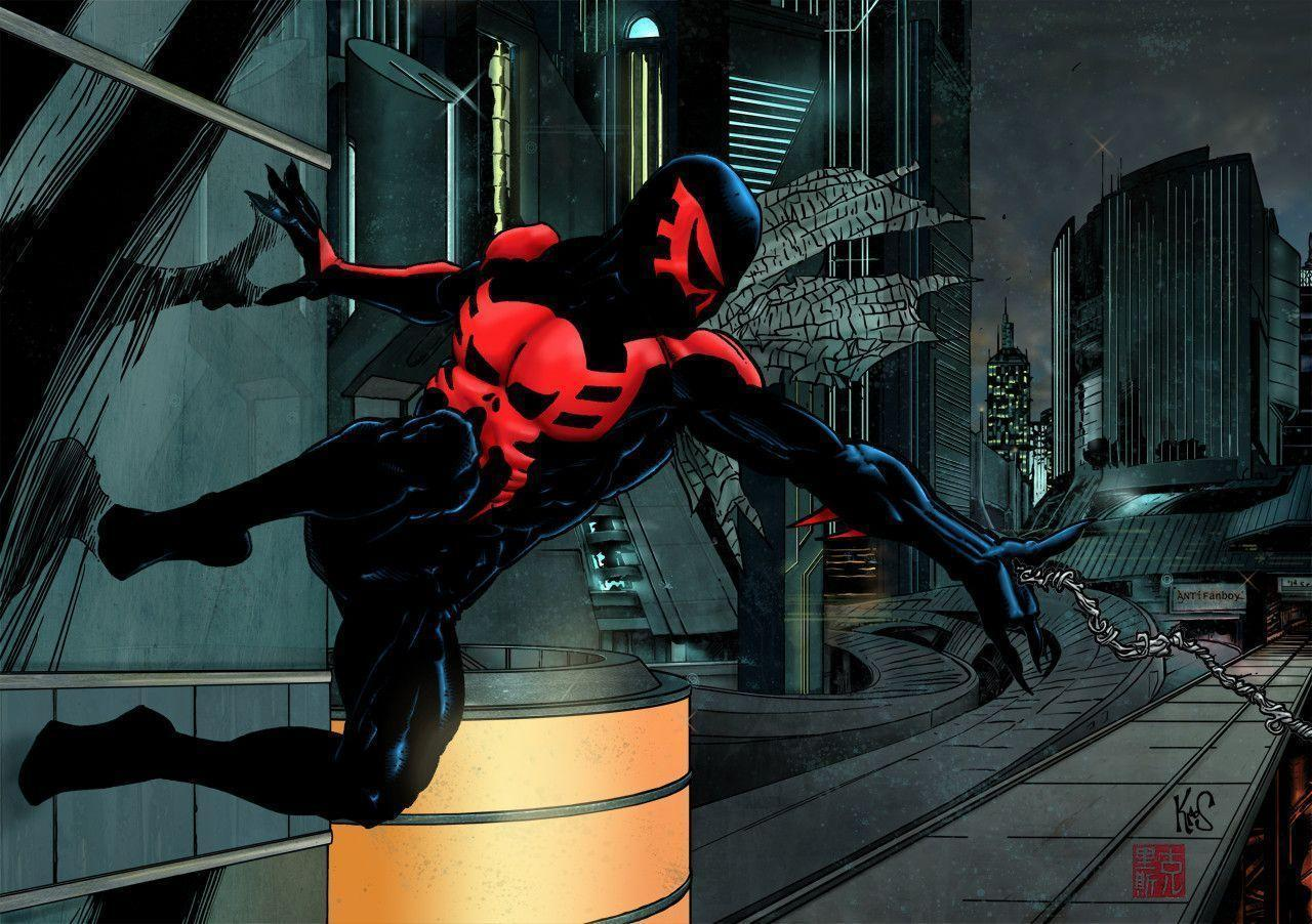 Pix For > Spider Man 2099 Wallpapers Hd