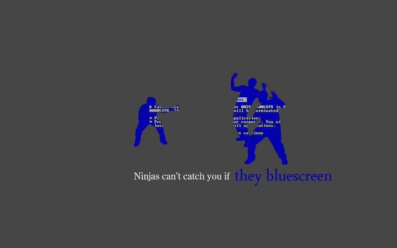 Blue Screen Of Death Wallpaper