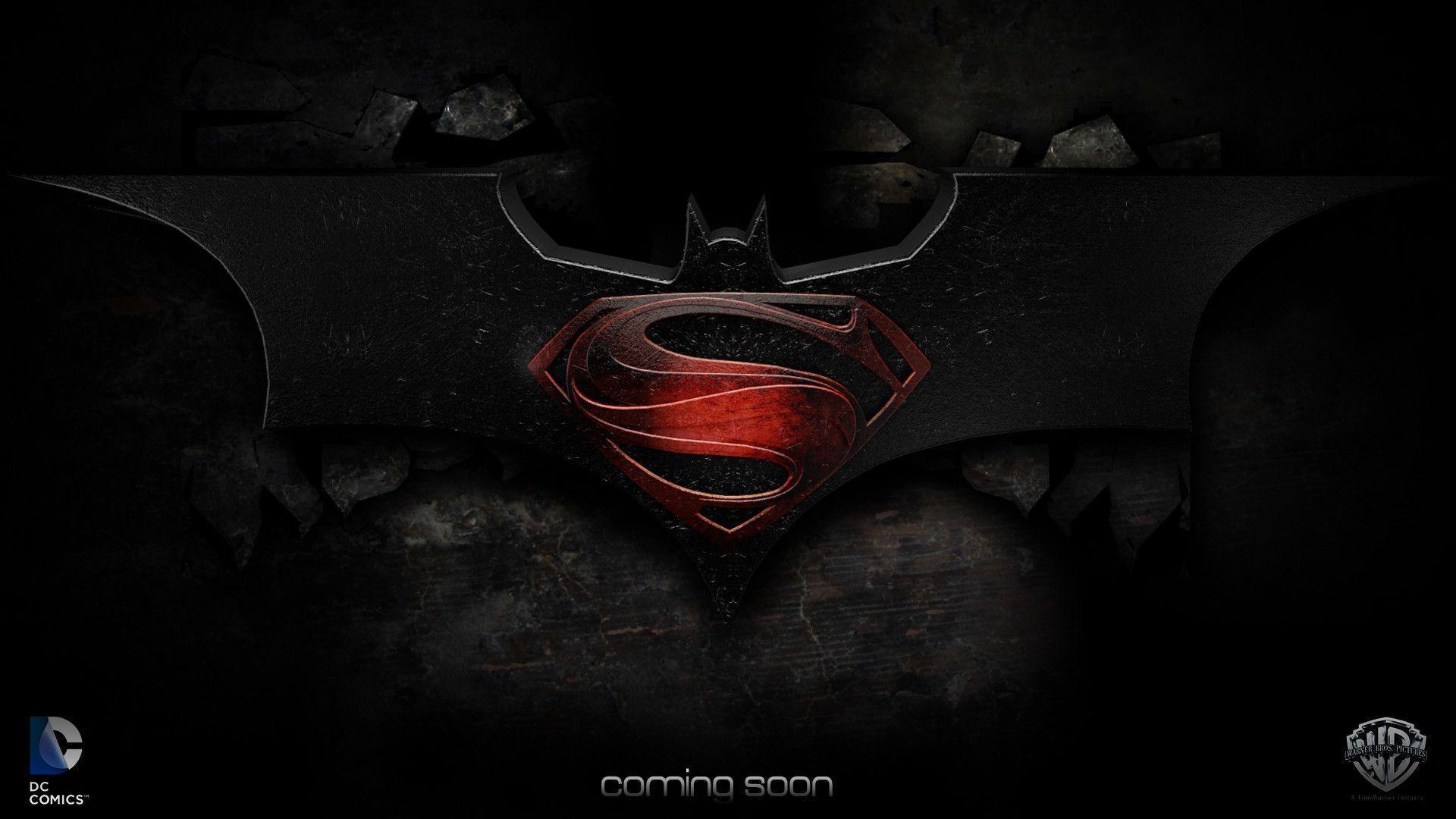 Batman Vs Superman Wallpapers - Wallpaper Cave |Batman Superman Logo Wallpaper