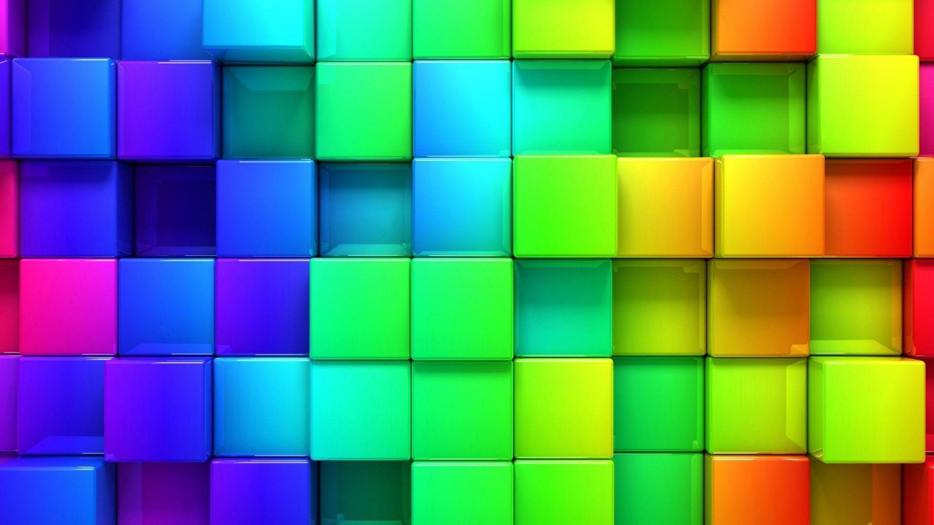how to make colorful wallpapers