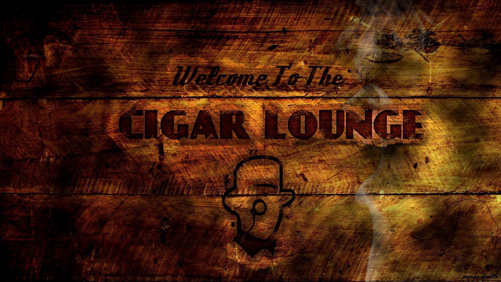 Cigar wallpapers wallpaper cave for Lounge wallpaper