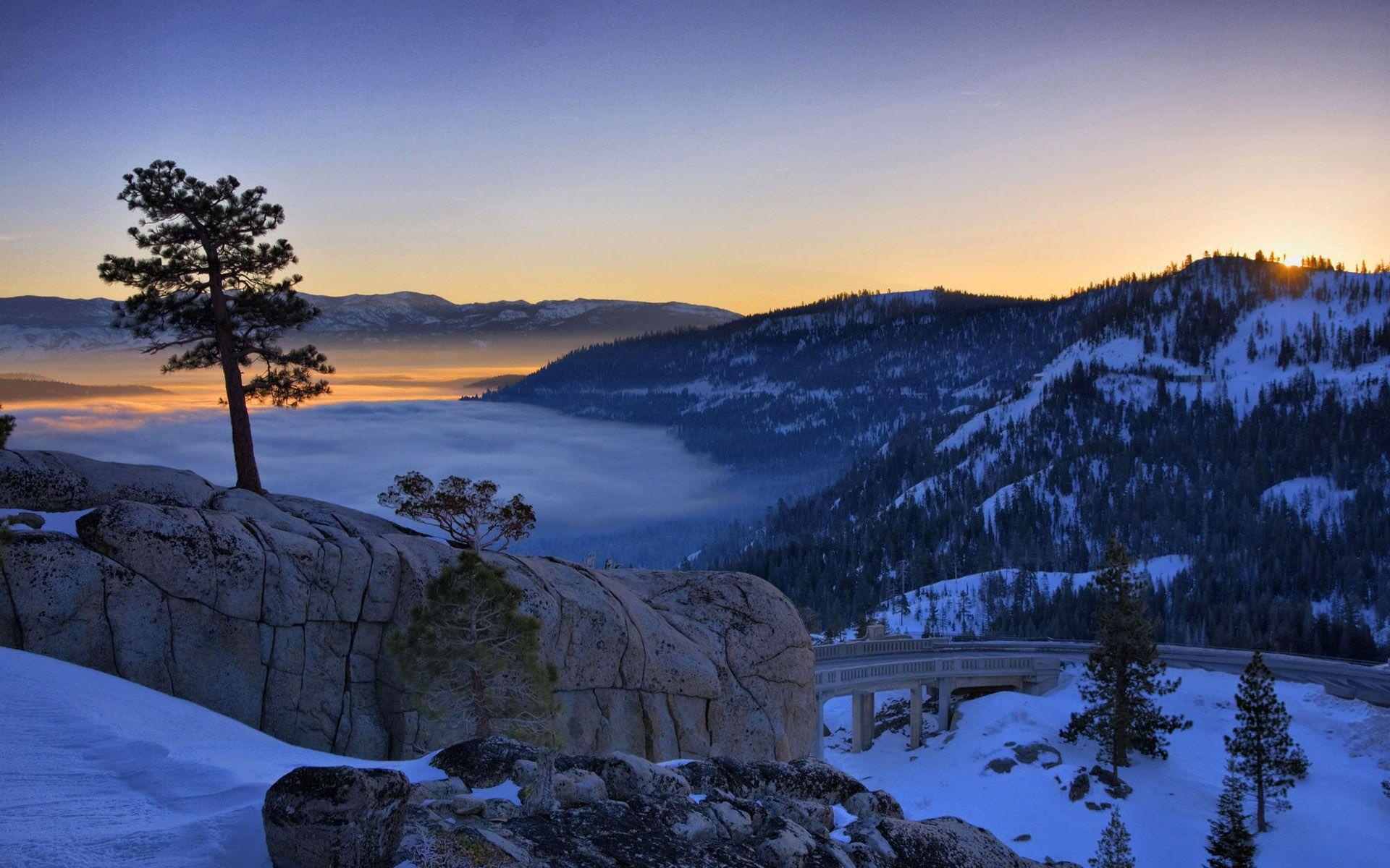 scenic winter beautiful wallpapers - photo #8