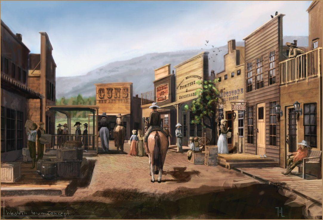wild west wallpaper-#32