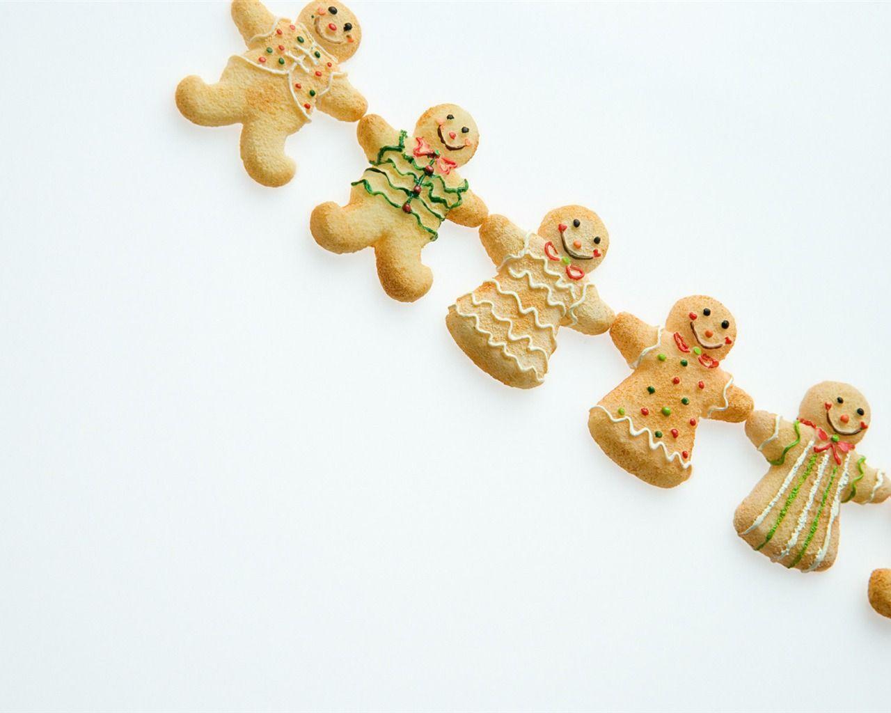 Gingerbread Man Wallpapers - Wallpaper - 75.6KB