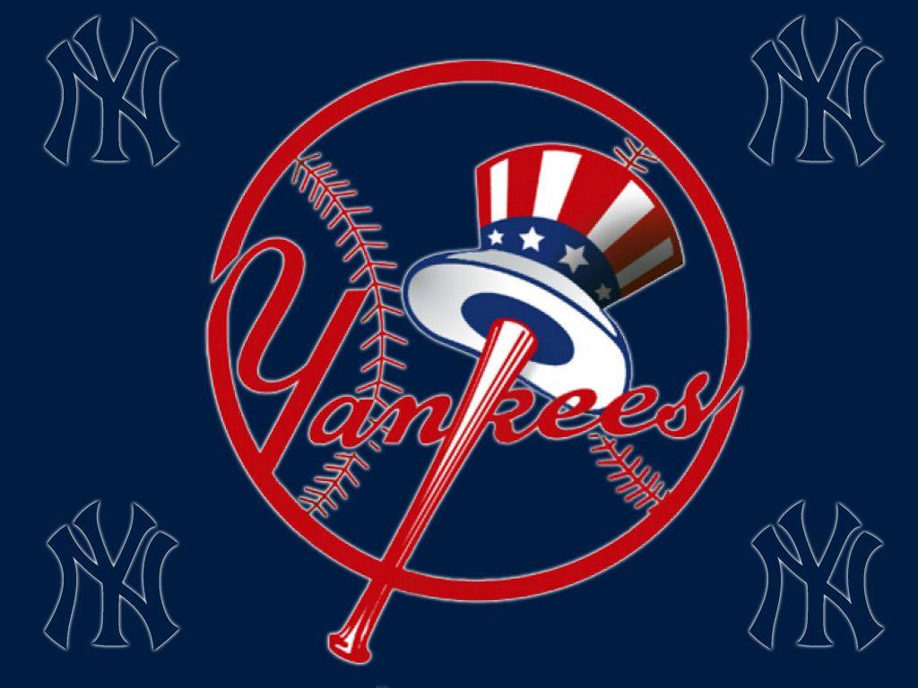 Download New York Yankees Logo Free Wallpapers 1024x768