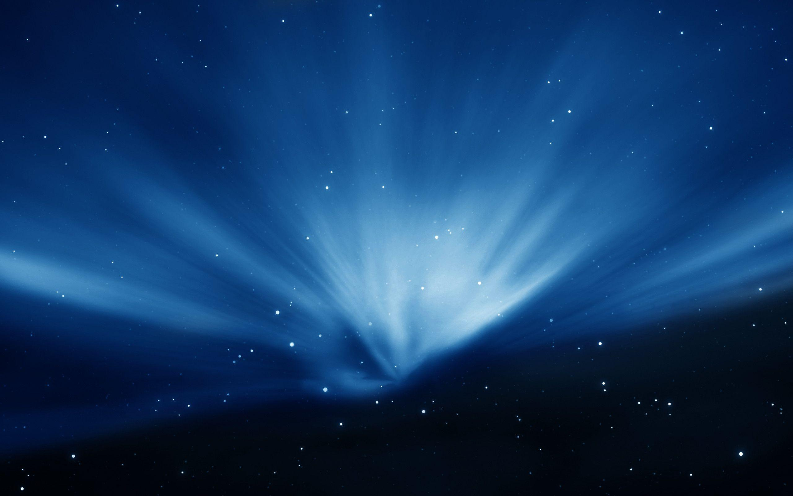 Apple Sky Blue Aurora Wallpapers