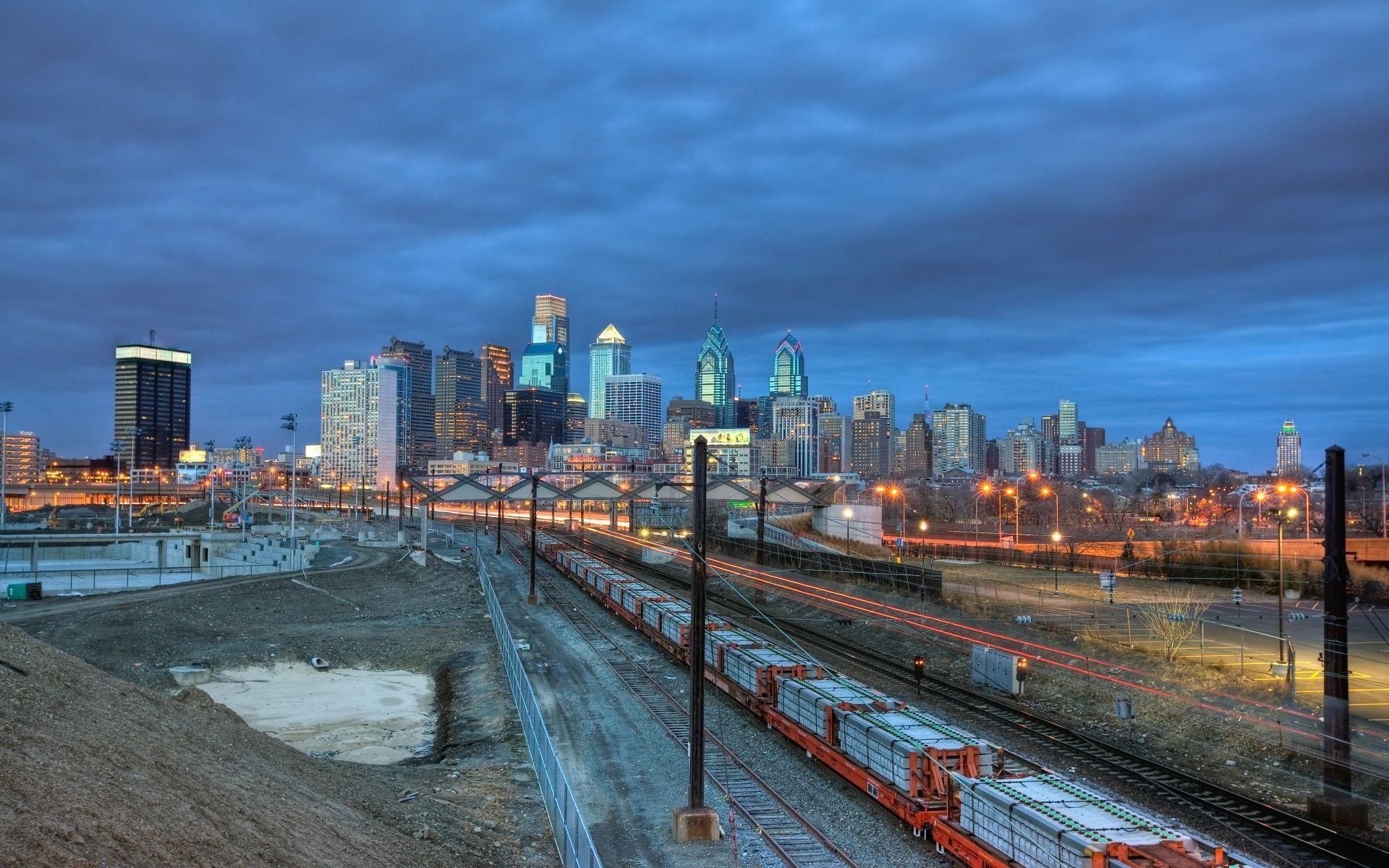 philadelphia skyline wallpaper - photo #7