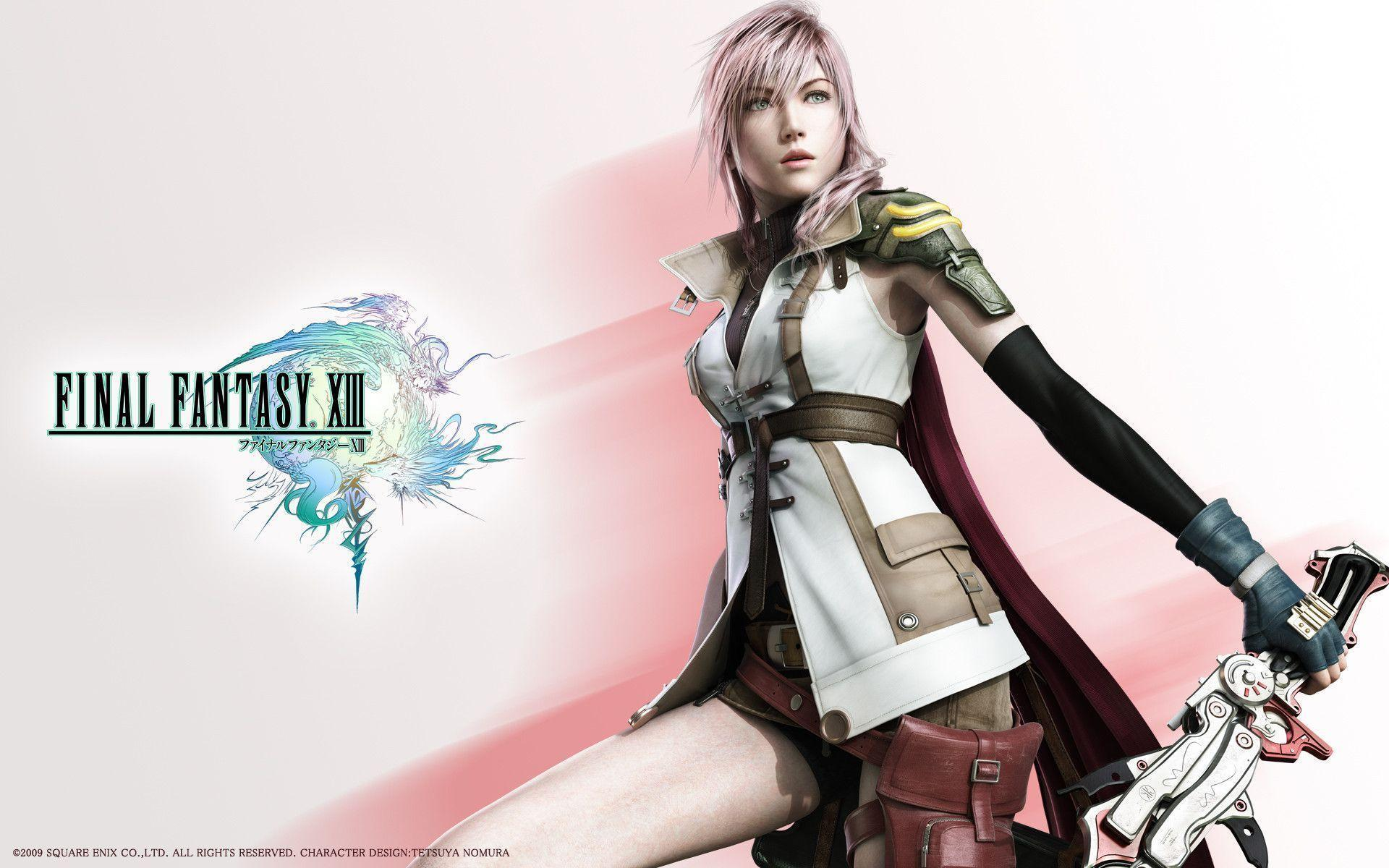lightning final fantasy wallpapers - wallpaper cave