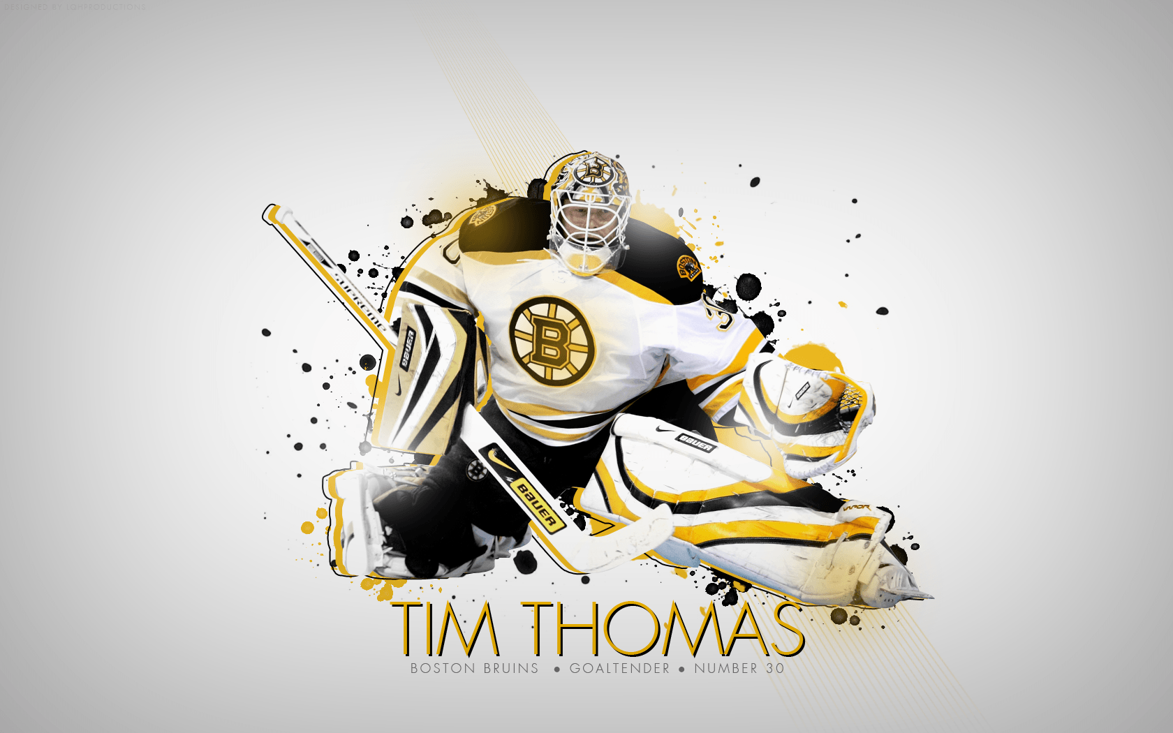 Tim Thomas Boston Bruins Wallpaper 2013