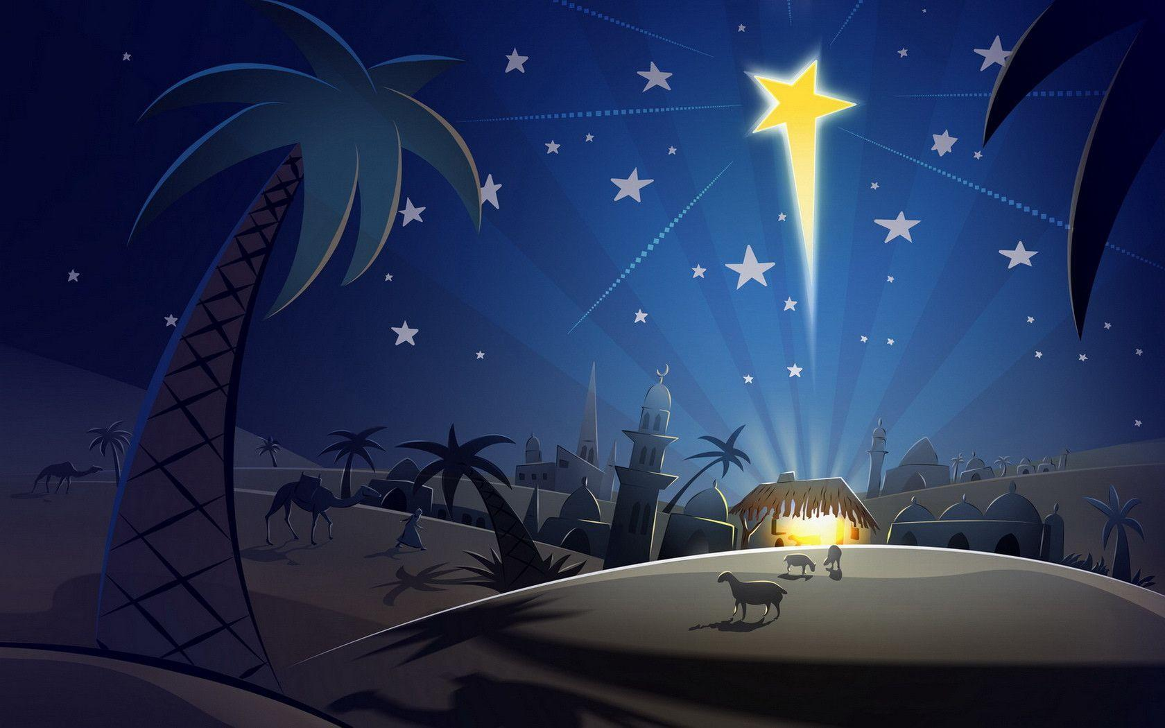 Christmas Nativity Wallpaper Desktop
