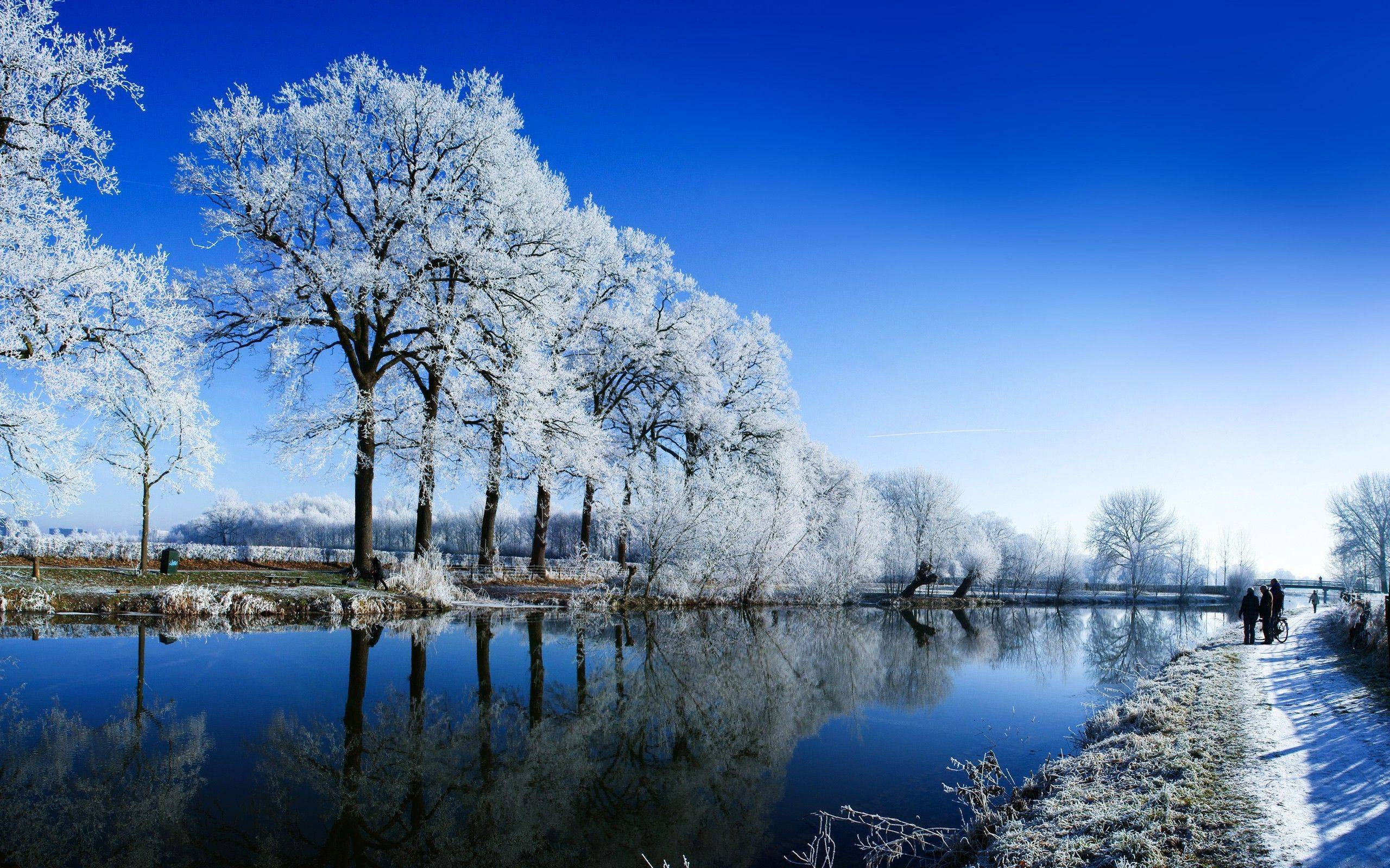 winter time wallpaper cool-#46