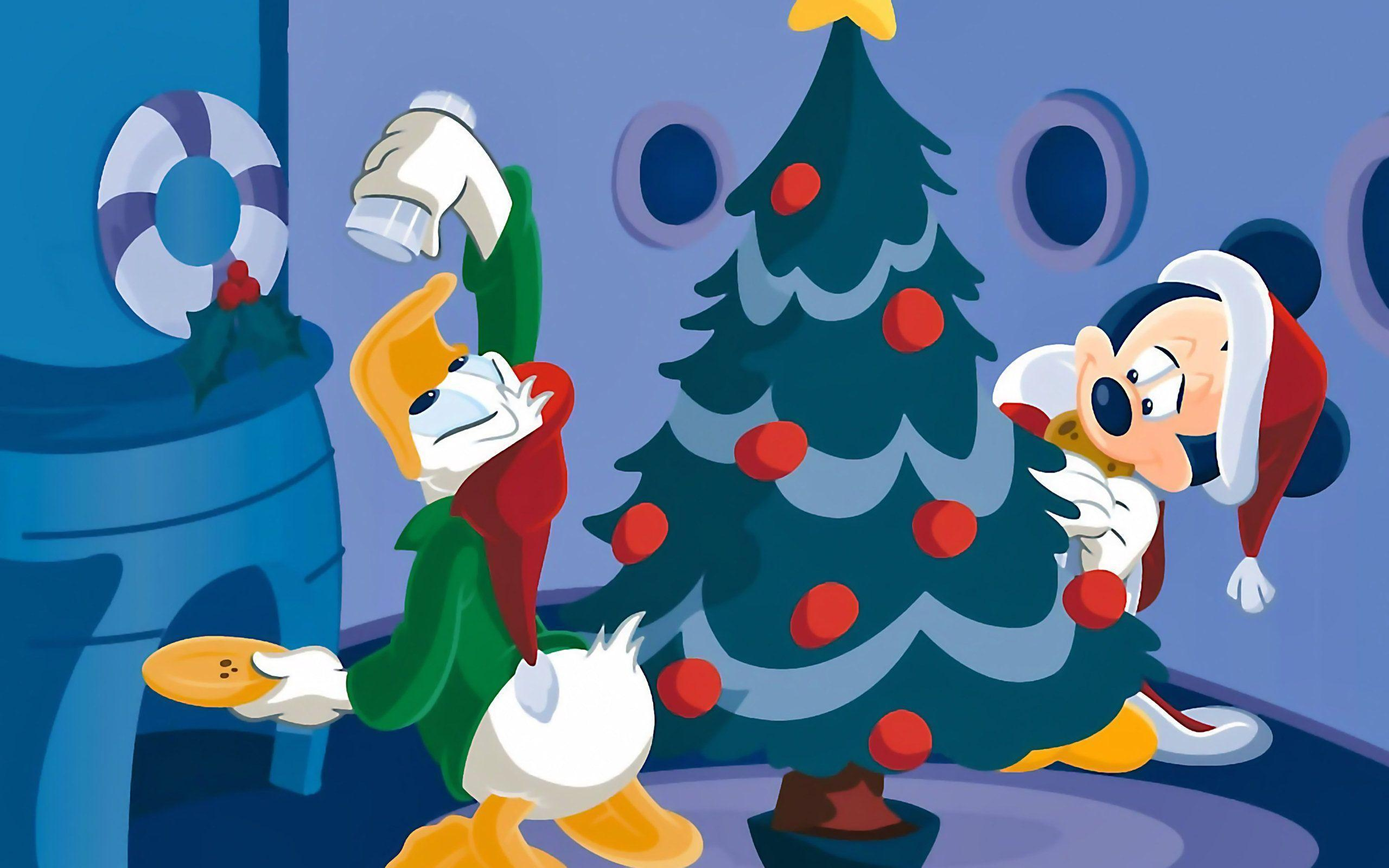 Mickey Mouse Santa wallpapers 33 Wallpapers – HD Wallpapers