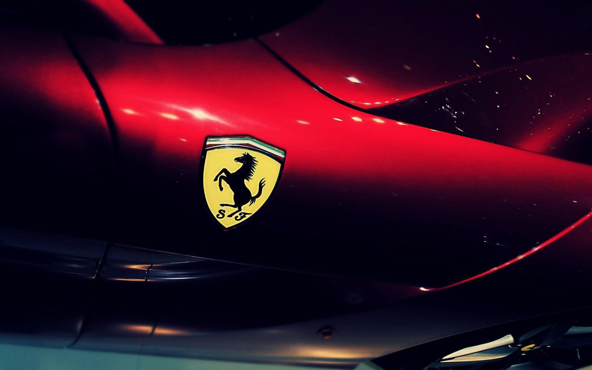 Ferrari logo wallpapers wallpaper cave - Car logo wallpapers ...