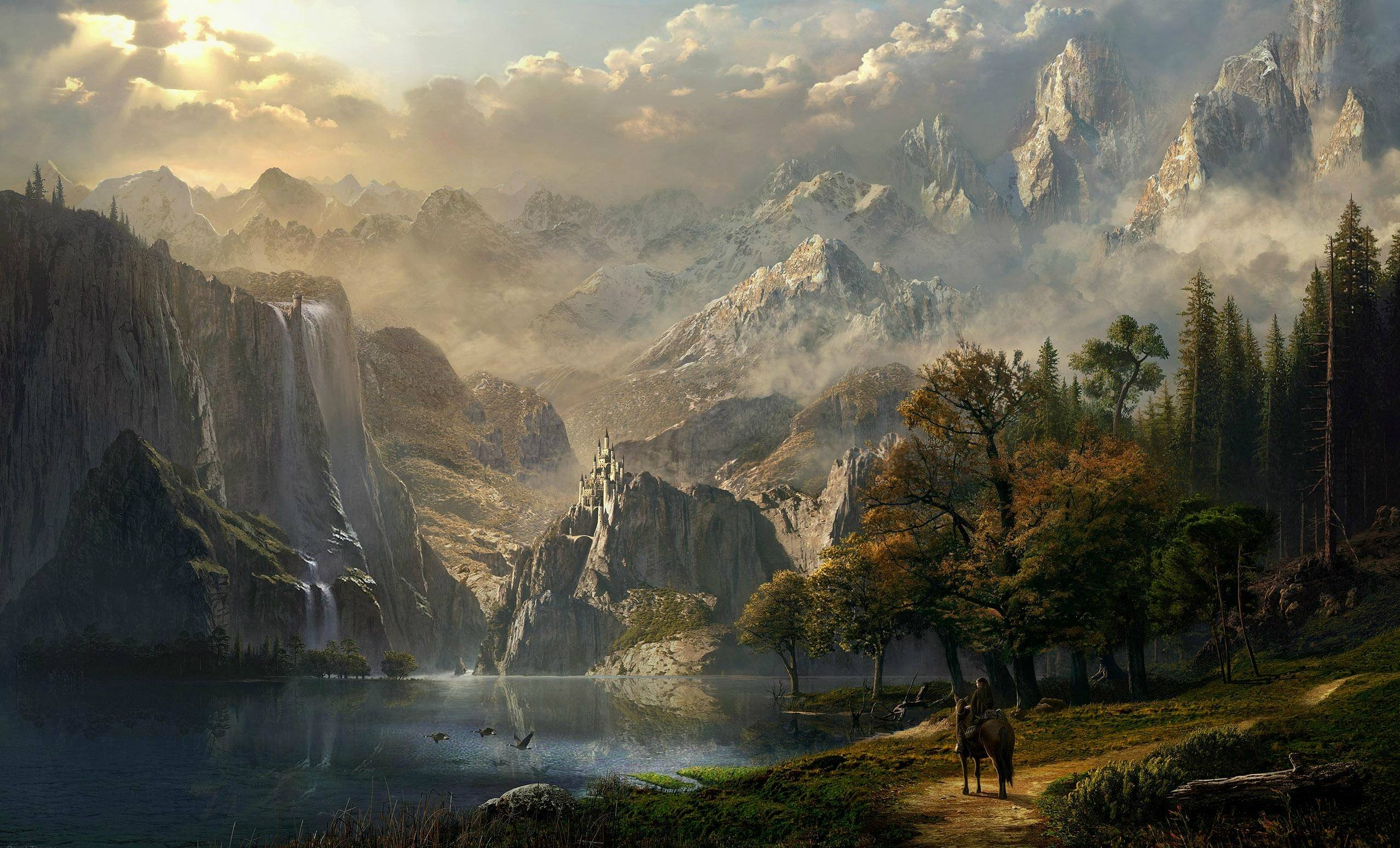 Epic fantasy wallpapers wallpaper cave - Epic wallpapers 2560x1440 ...
