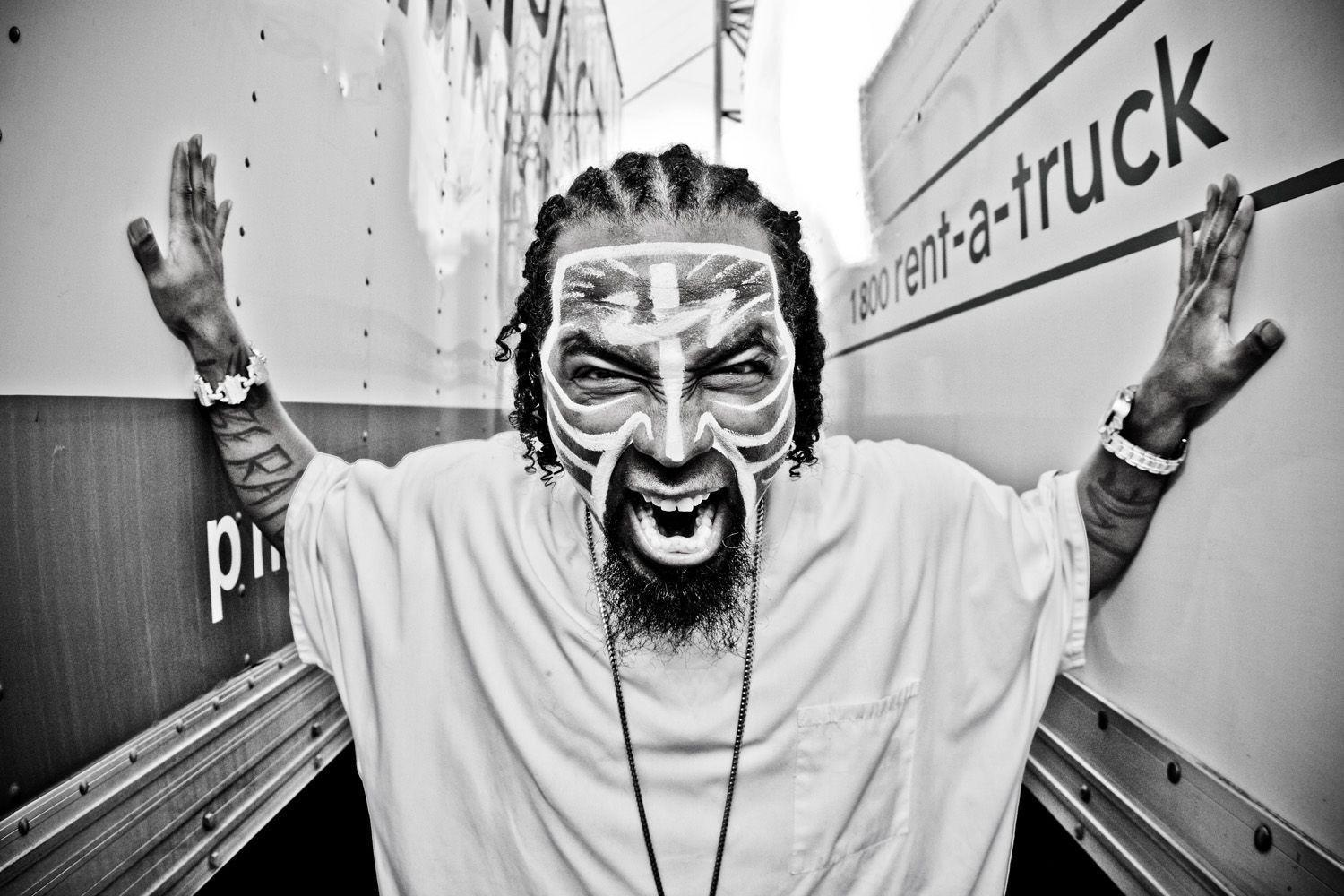 Tech N9ne Face Paint W...