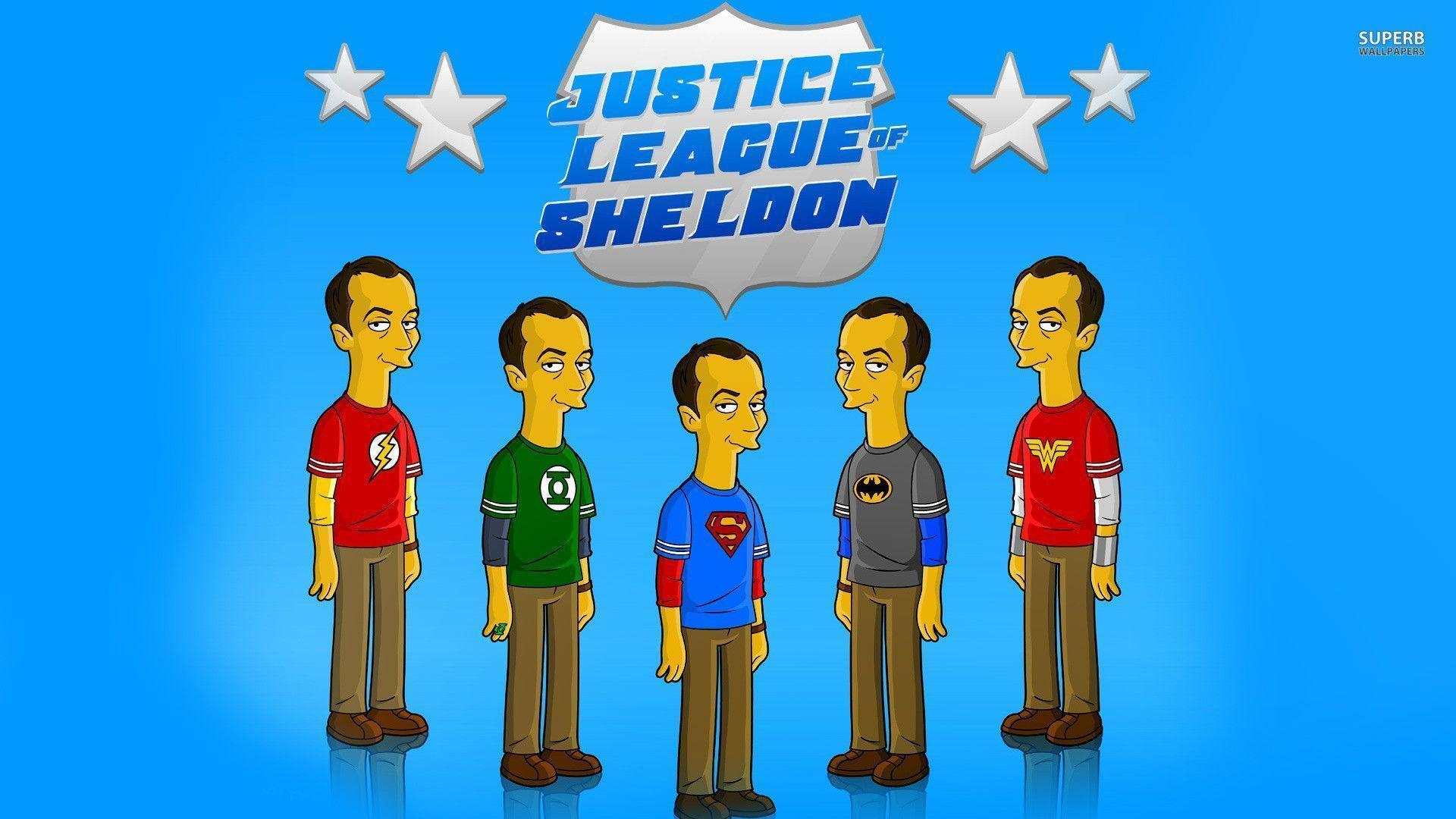 Justice league of Sheldon wallpapers