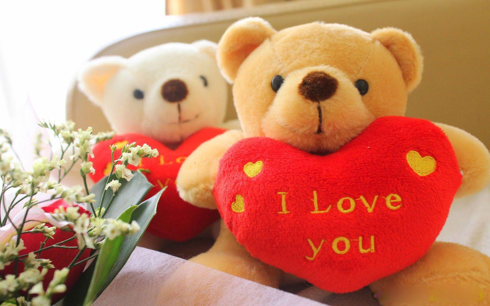 Love You Wallpaper For Girlfriend : Teddy Bear Love Wallpapers - Wallpaper cave