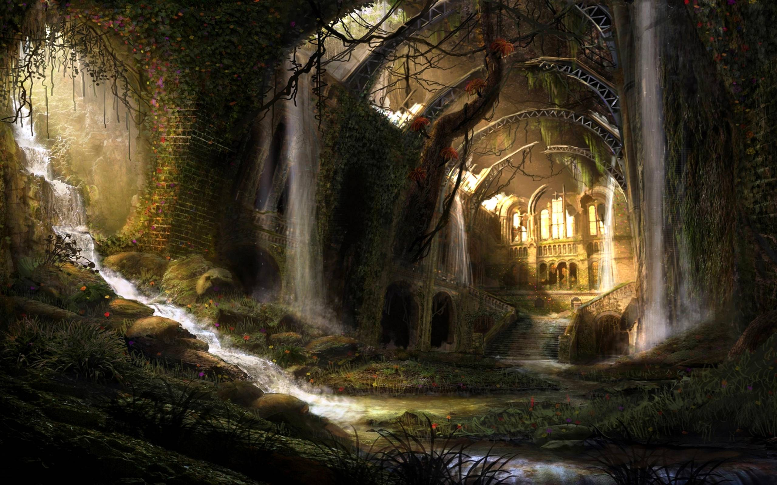 Fantasy Landscape Wallpapers Wallpaper Cave