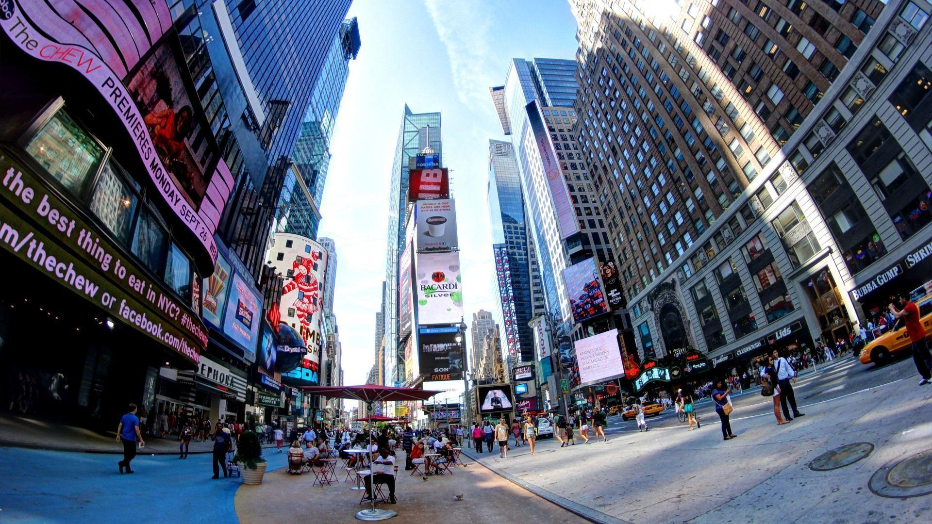 Time Square New York U.S. - HD Travel photos and wallpapers