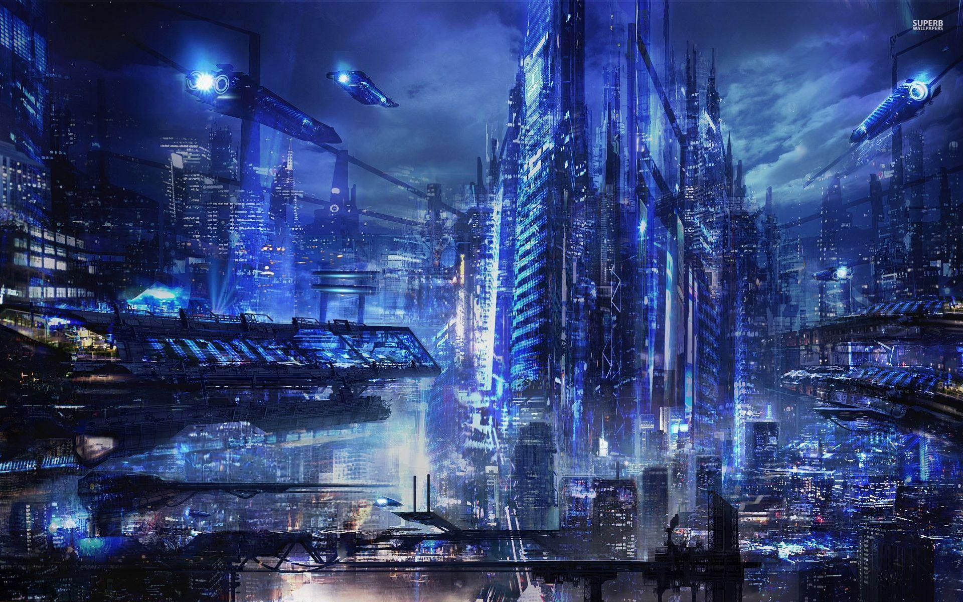 cyberpunk metropolis wallpaper - photo #27