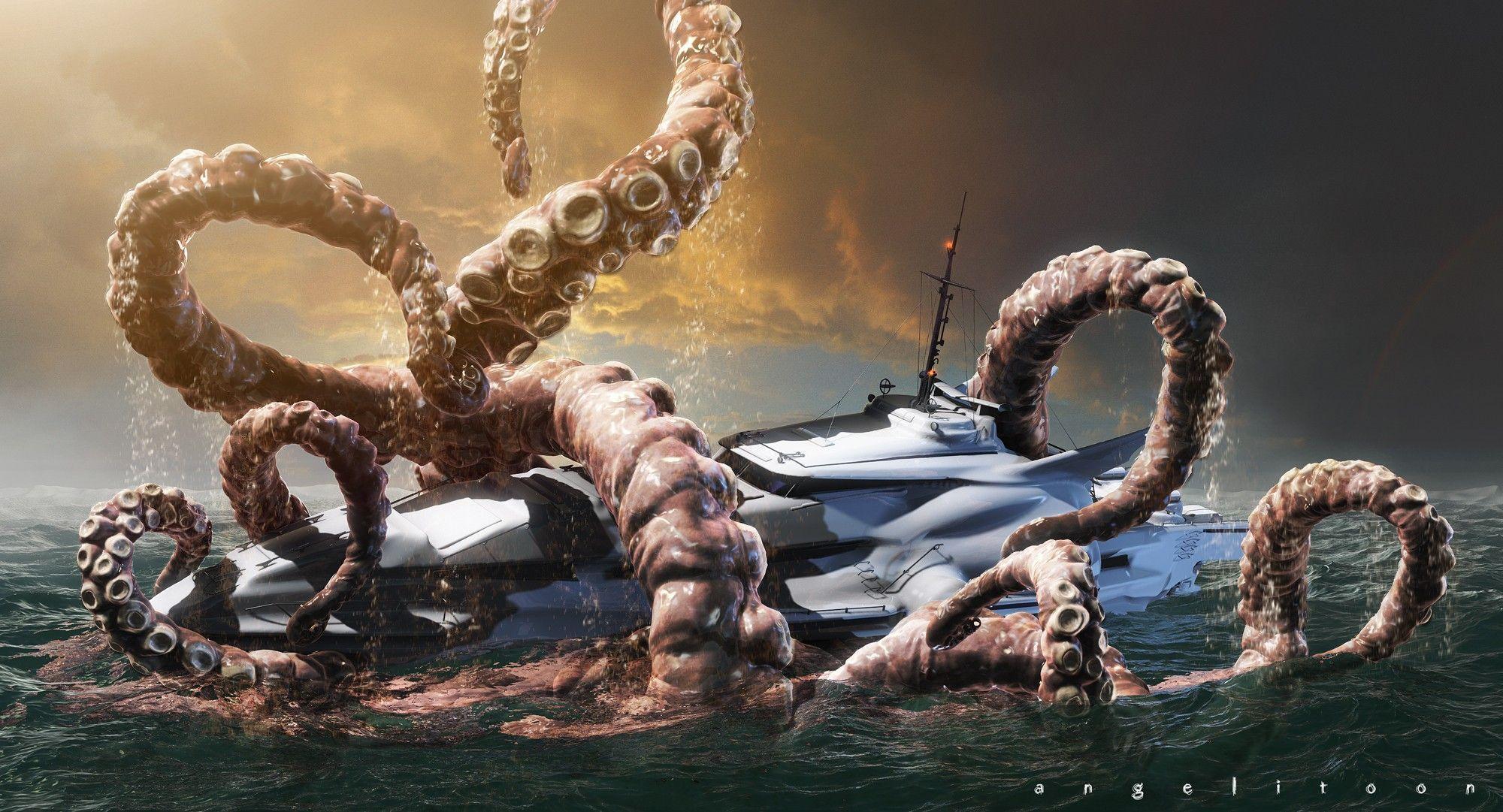 kraken wallpaper wallpapers jhonyvelascojpg - photo #10