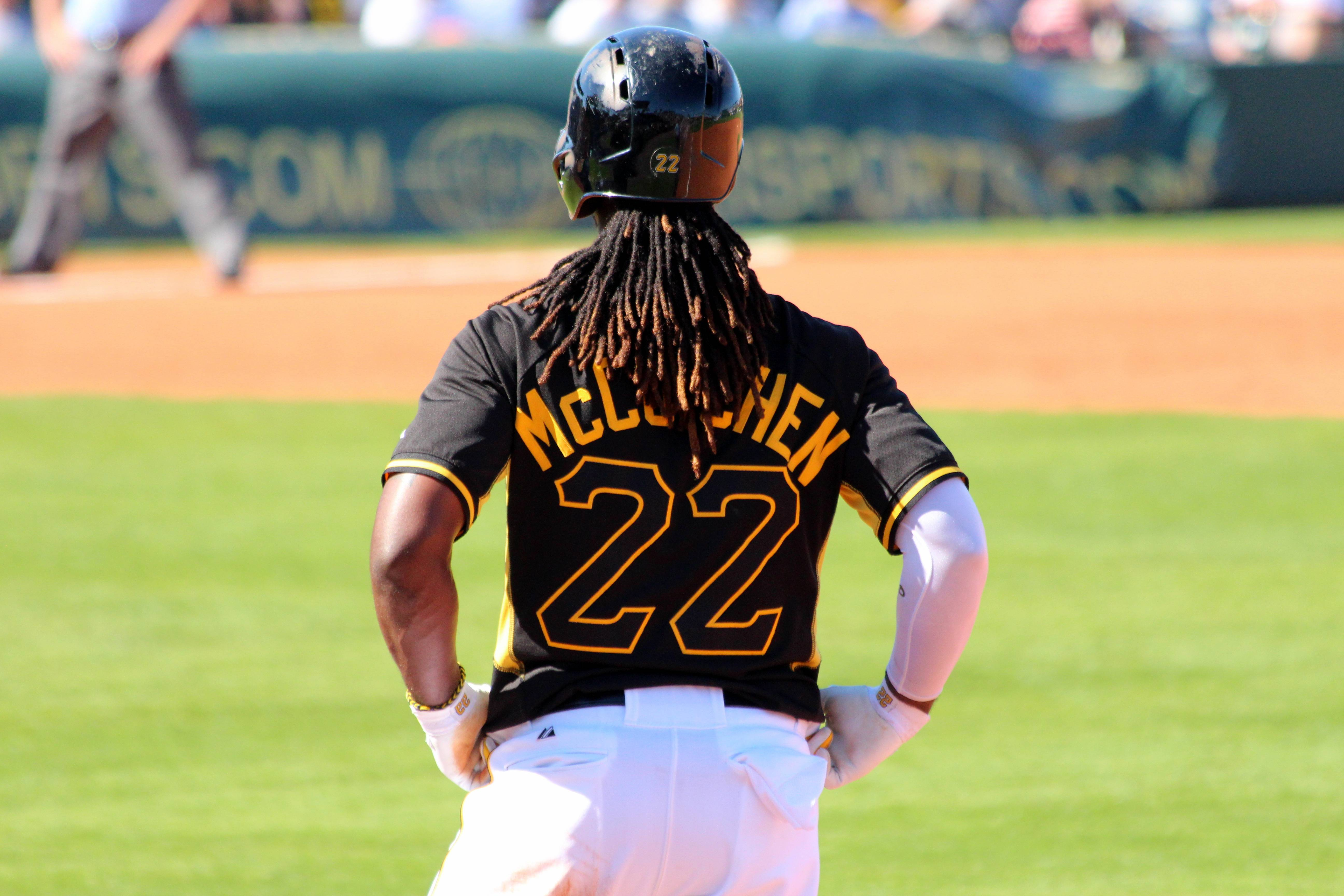 Images For > Andrew Mccutchen Stealing