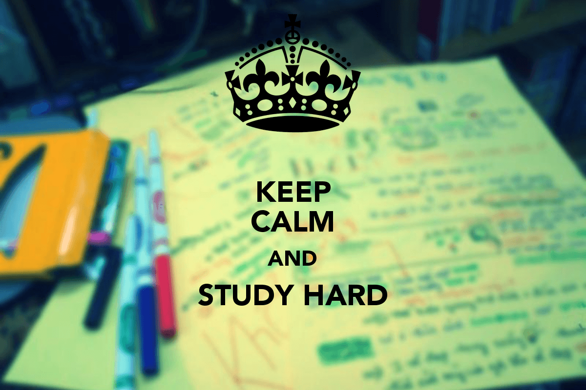 Wallpaper download exam - Keep Calm And Study Hard Keep Calm And Carry On Image Generator