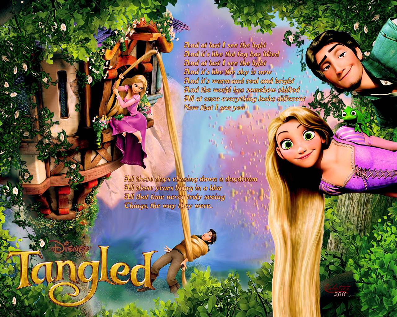 Disney Tangled Wallpapers