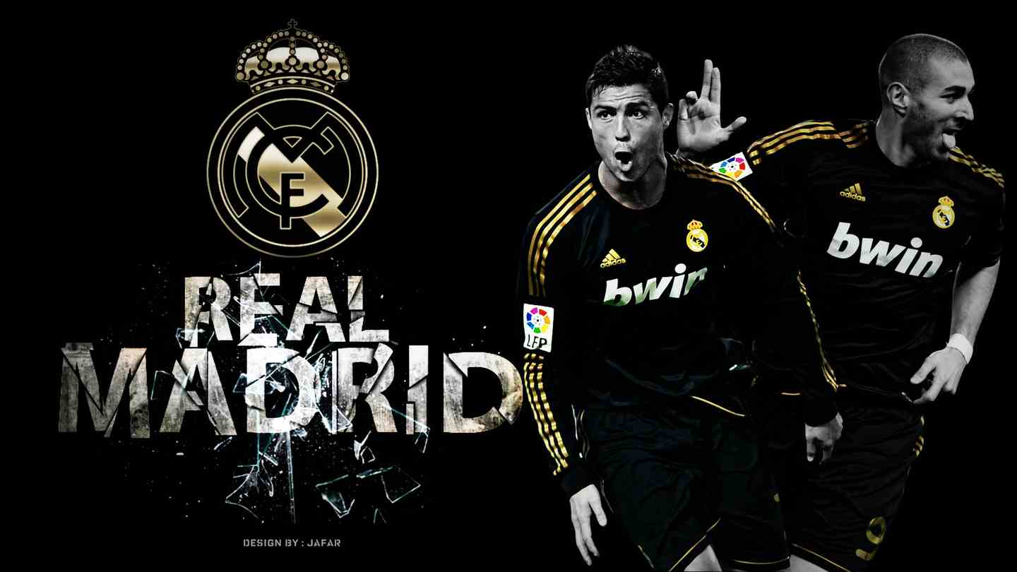 Gold Real Madrid Wallpaper Download Wallpaper from HD Wallpaper