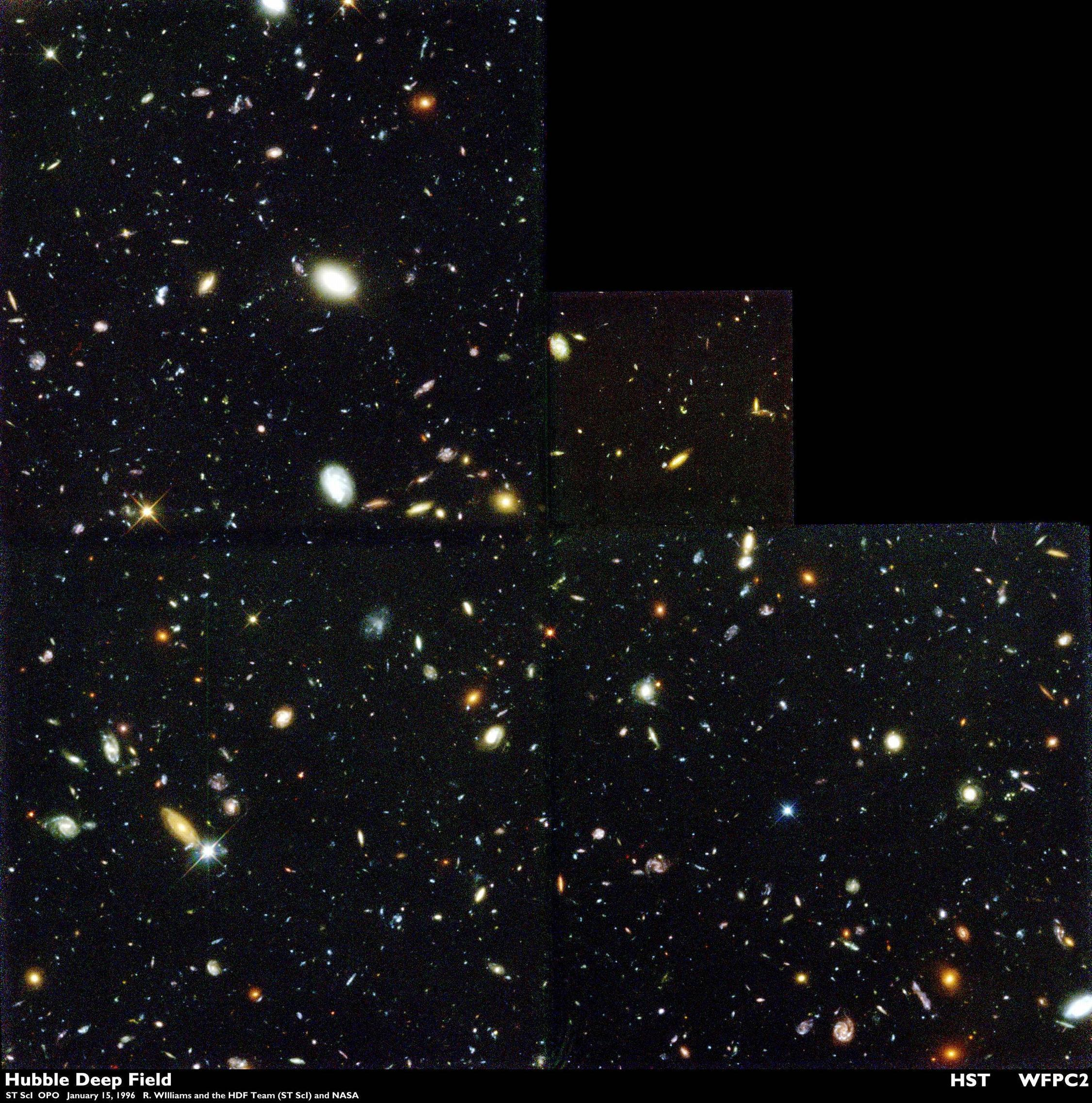 hubble deep field hd wallpaper - photo #20