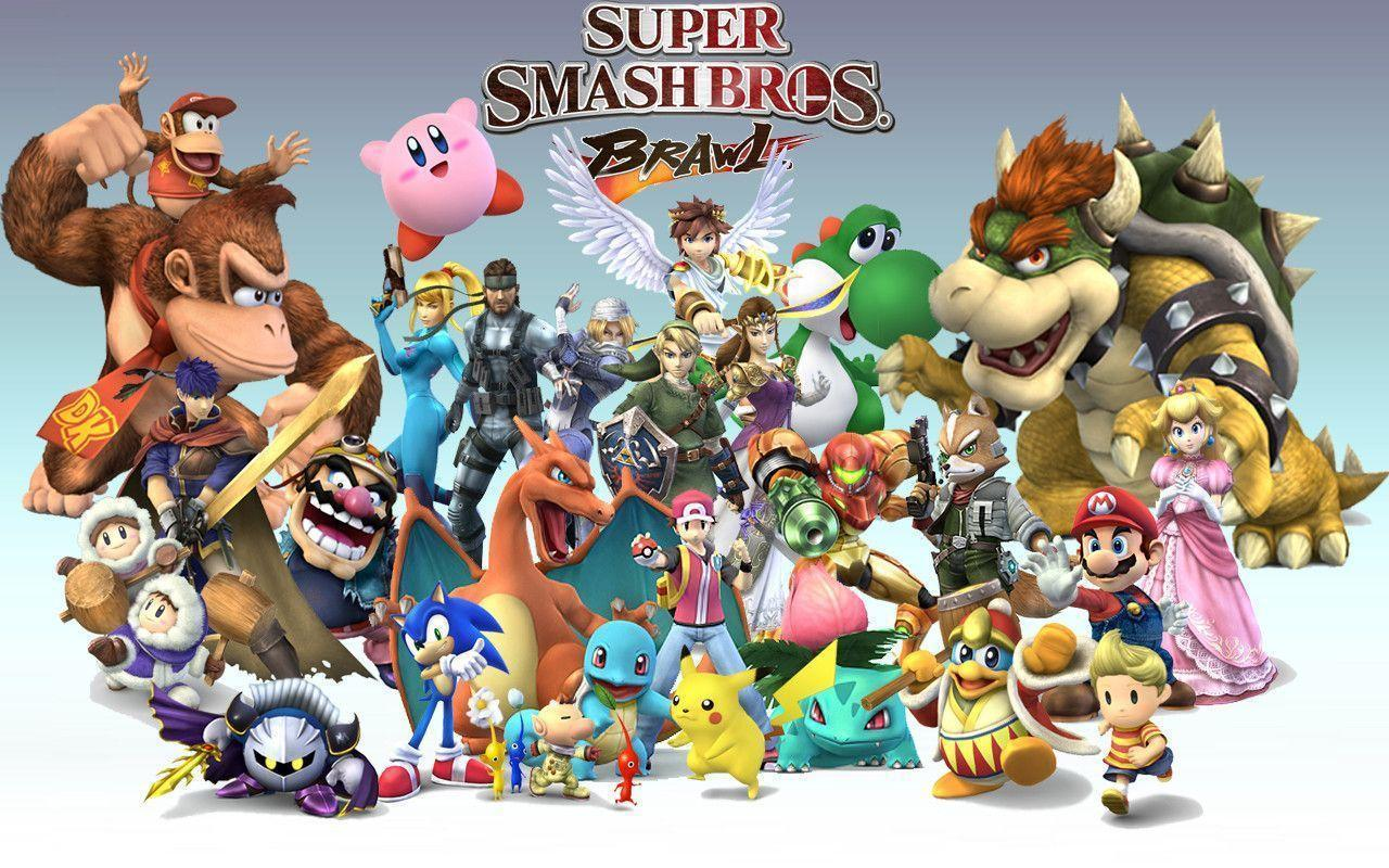 Super Smash Bros Brawl Wallpapers Wallpaper Cave