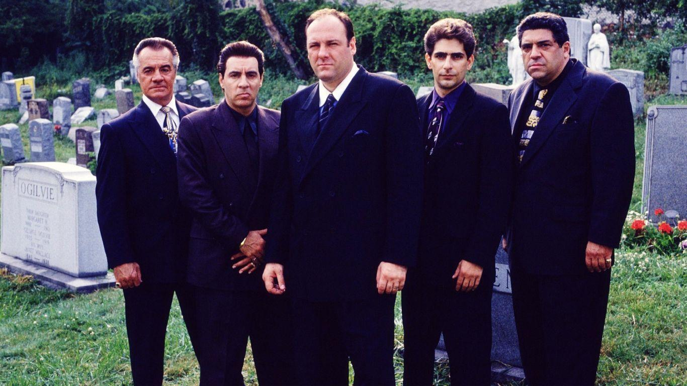 Wallpapers The Sopranos Soprano Crew for Hdtv 1366x768PX