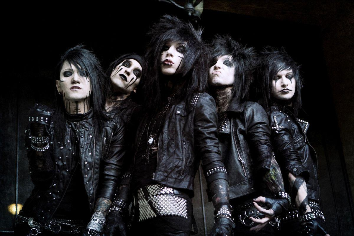 Black veil brides cartoon video - YouTube