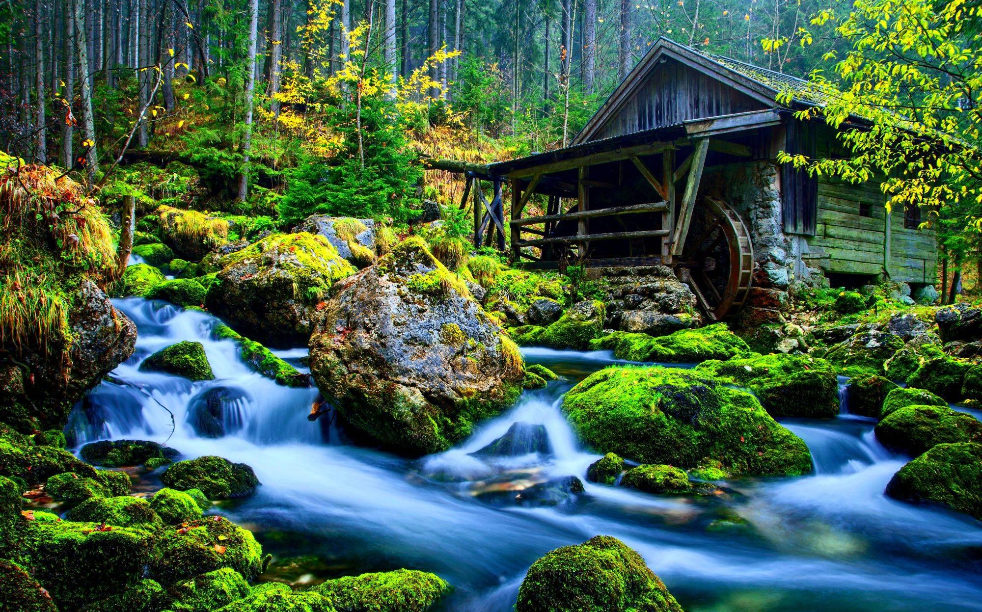Hd wallpaper nature 3d - Funmozar 3d Water Wallpaper