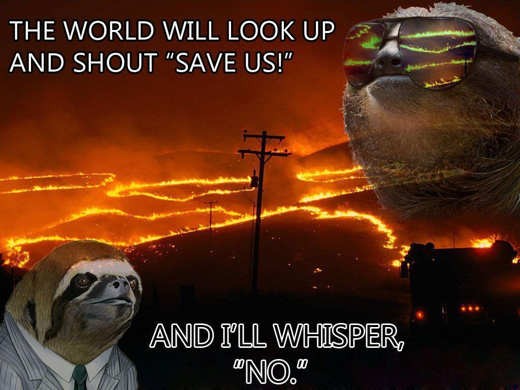 Sloth Meme Whisper Jalapeno