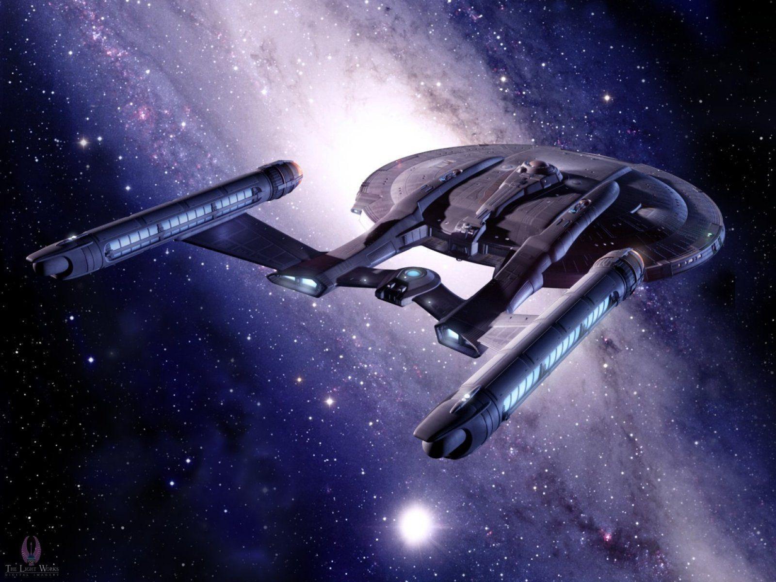Klingon Ship Into Darkness Star Trek Enterprise W...