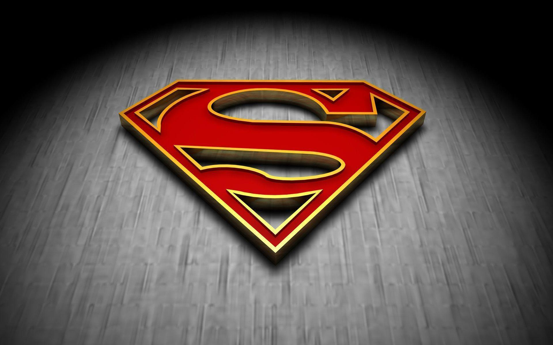 Superman Logo Fire wallpapers