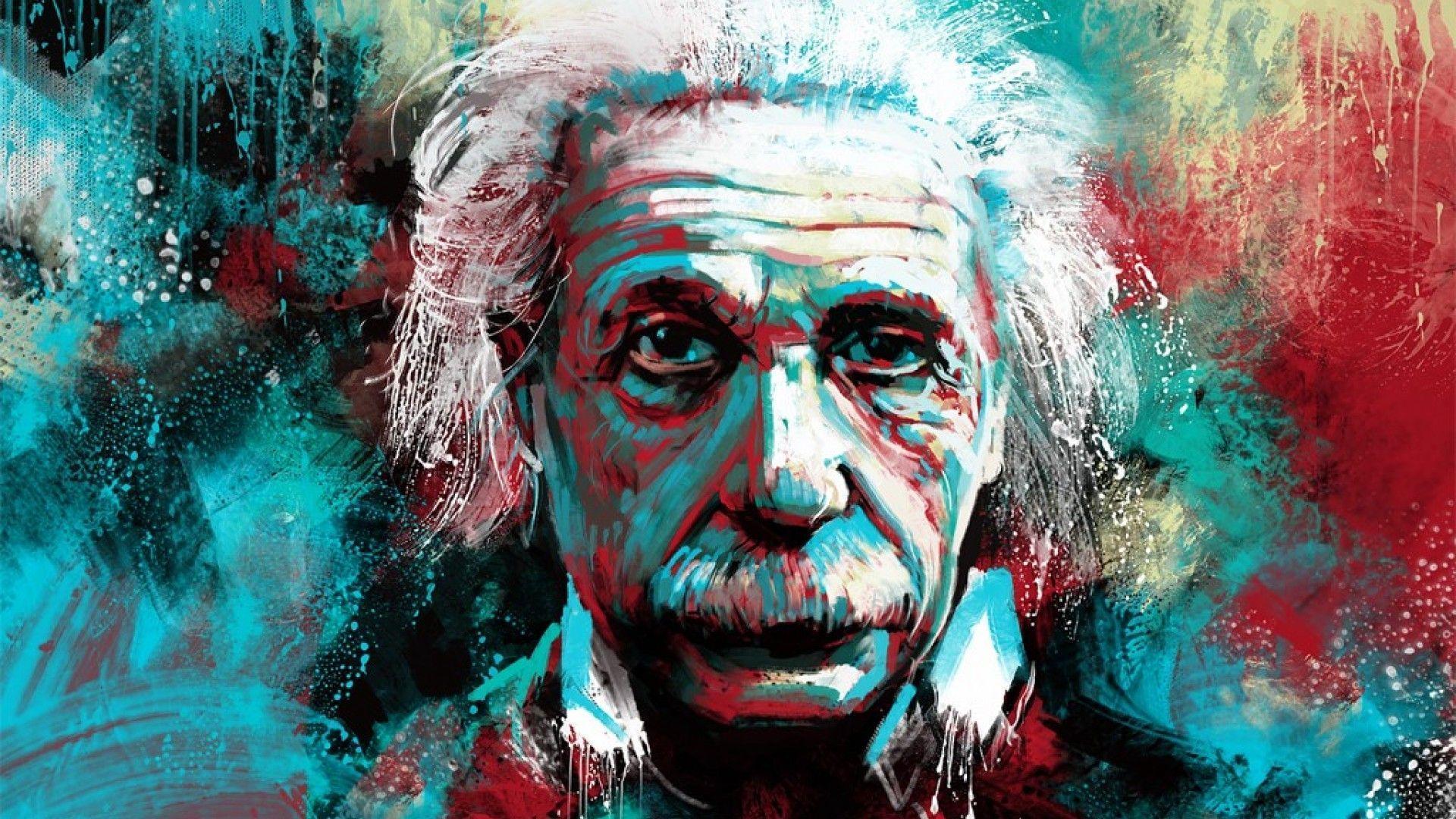 Albert Einstein Wallpaper Desktop Fourwallsonly