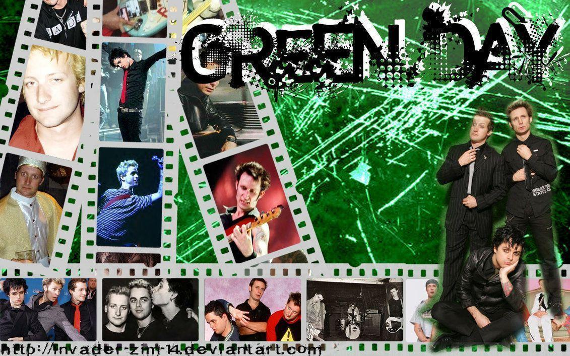 Green Day wallpapers by invader