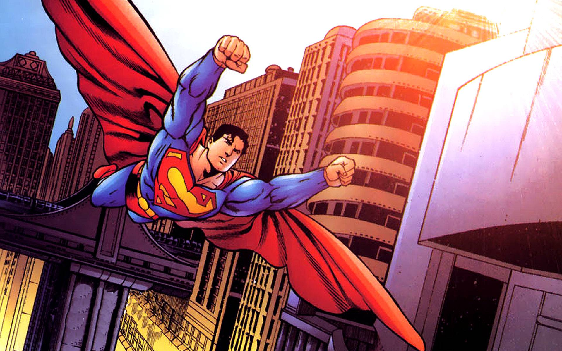superman comic art wallpaper - photo #6