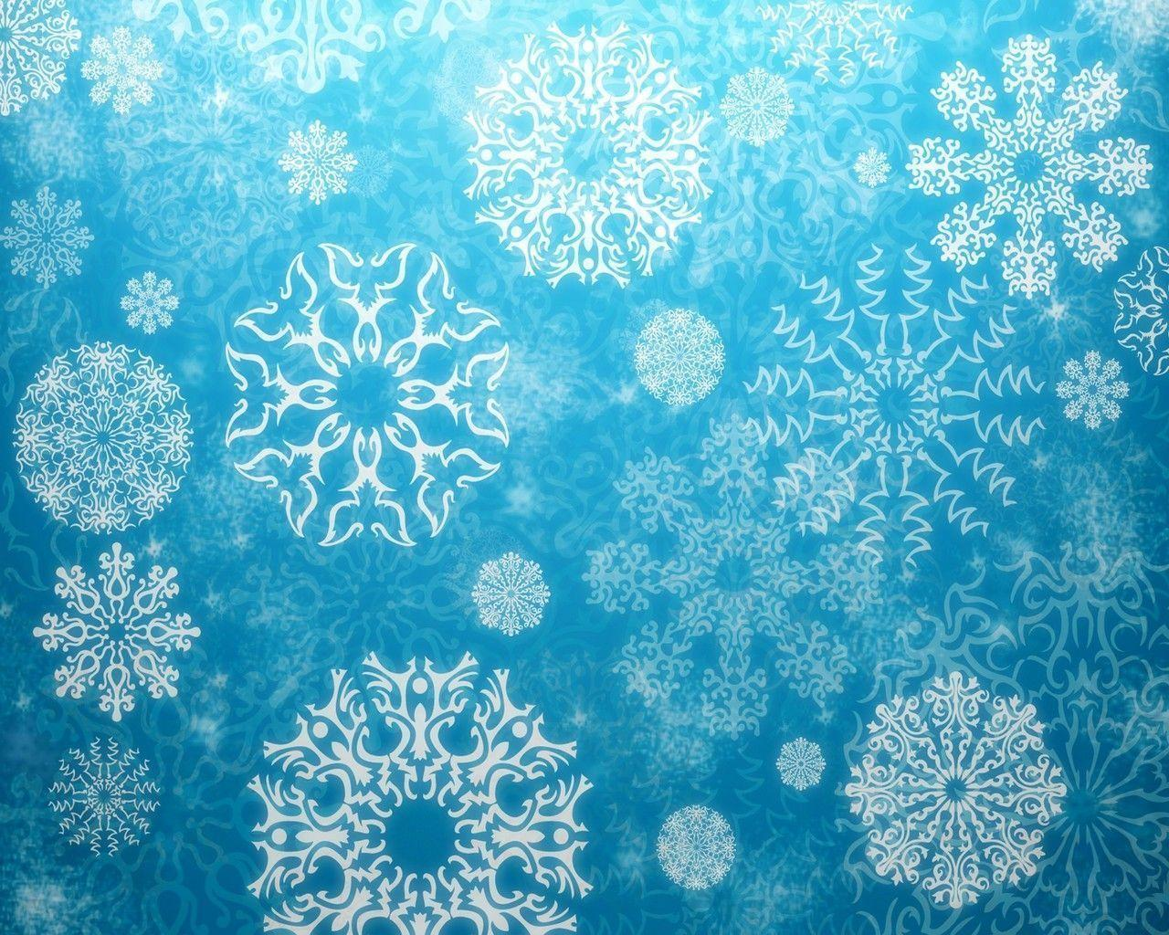 real snowflakes background - photo #21