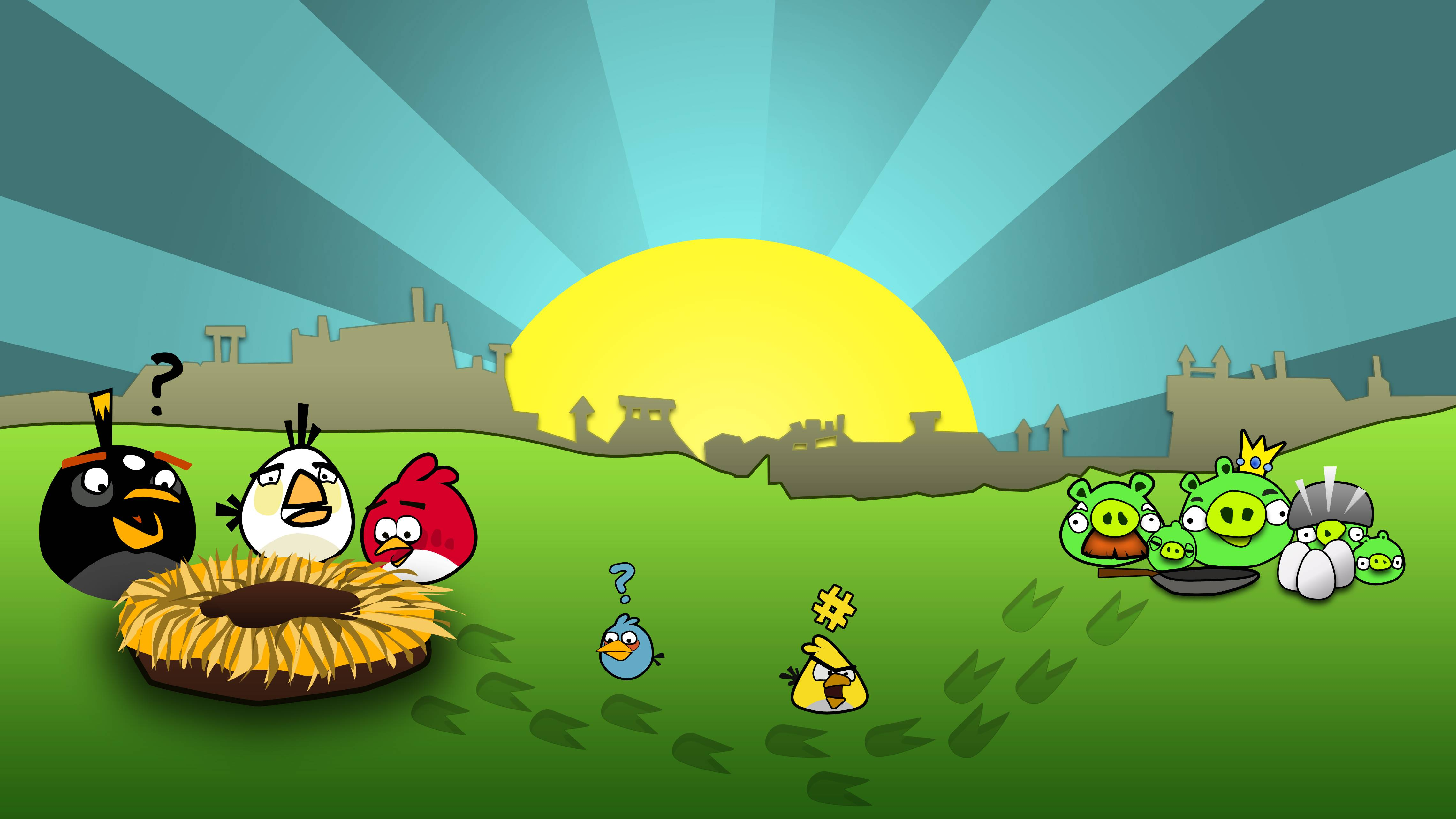 angry bird wallpapers wallpaper cave