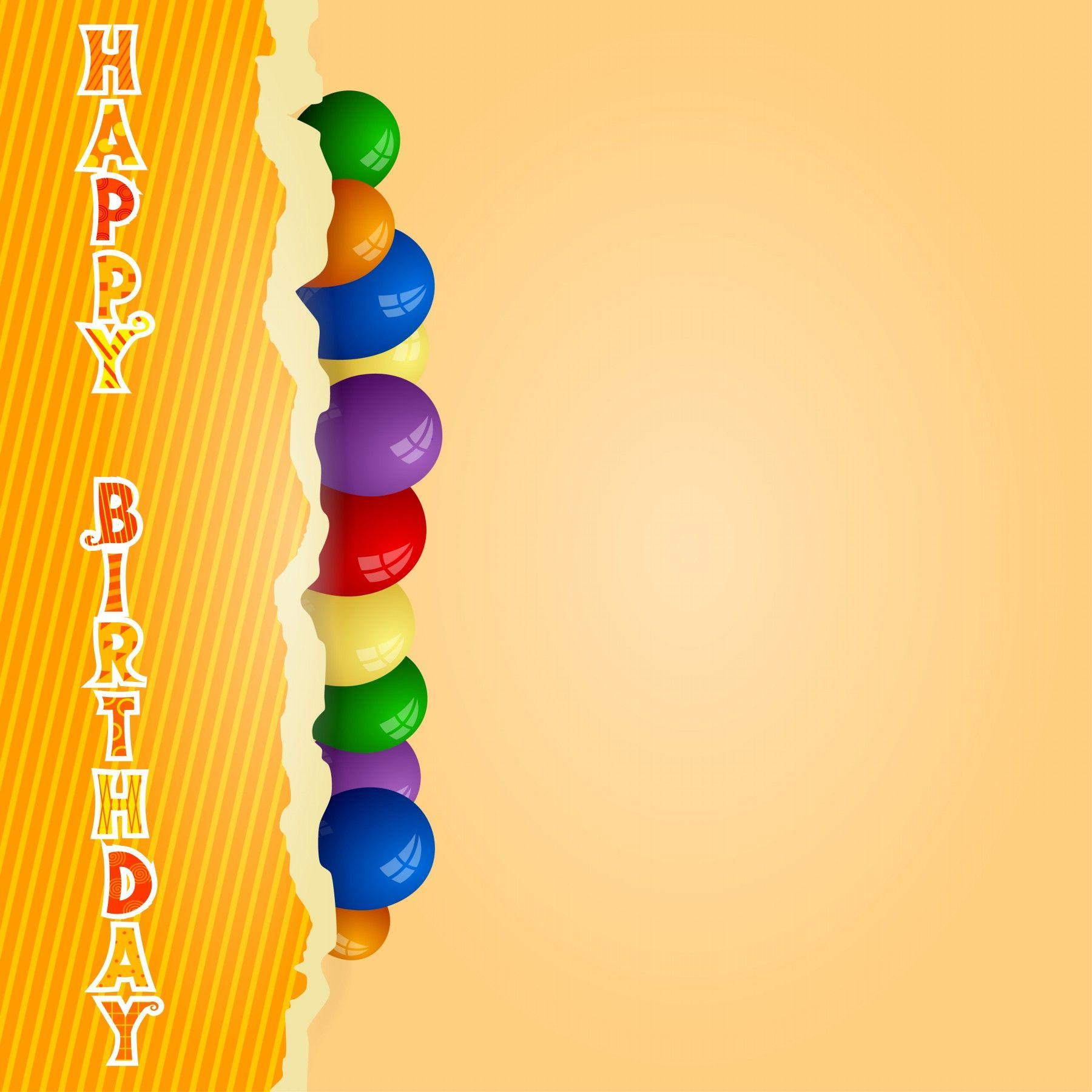 Birthday Card Backgrounds